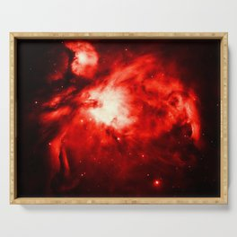Orion NeBULA : Red Serving Tray