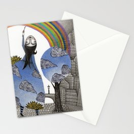 Rainbow Mine Stationery Cards