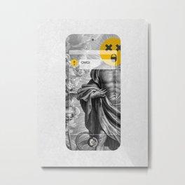 OMG! (MetaPhone) Metal Print