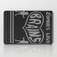 Zombie knitwear iPad Case
