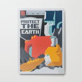 Protect Metal Print