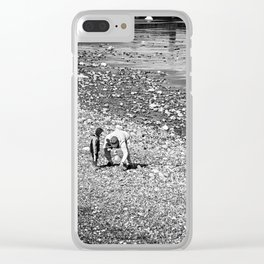 Treasure hunting Clear iPhone Case