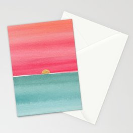 #83. ANNE MARIE - Sunset Stationery Cards