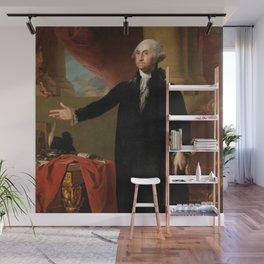 George Washington by Gilbert Stuart, 1797 Wall Mural