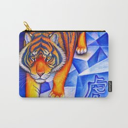 Chinese Zodiac Year of the Tiger Carry-All Pouch
