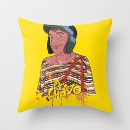 El Chavo del Ocho - Chespirito Throw Pillow