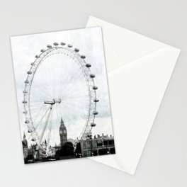 Big Ben in the London Eye Stationery Cards