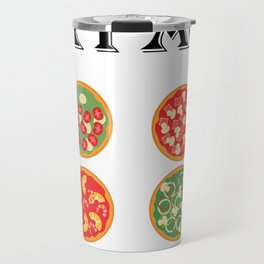 Check Out My Six Pack Pizza Funny Workout Gym Travel Mug