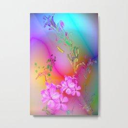 Touching Rainbows Metal Print