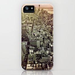 moody Manhattan iPhone Case