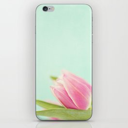 Pink Tulips iPhone Skin