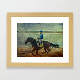 GANADOR EN SANLUCAR Framed Art Print