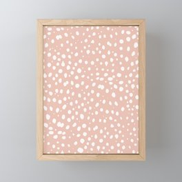 LEOPARD PINK Framed Mini Art Print