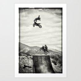 gozillas ride Art Print