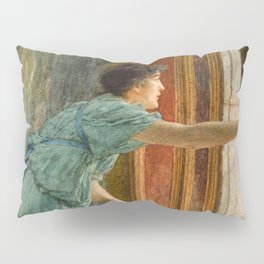 "Sir Lawrence Alma-Tadema ""Expectation (Impatient)"" Pillow Sham"