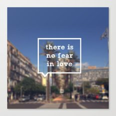 No Fear Canvas Print