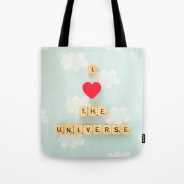 I Heart The Universe Tote Bag