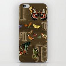 Let's Count Butterflies iPhone & iPod Skin
