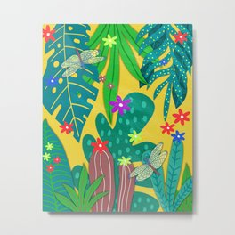 Fantasy Botanical #8 Metal Print