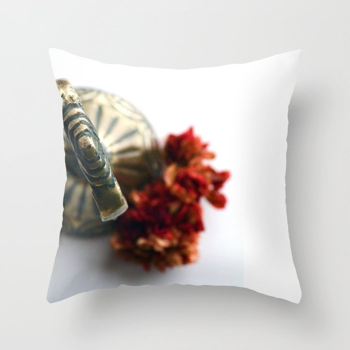 Flower bells in Throw Pillow