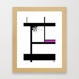Lost Control Framed Art Print