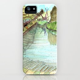 Meandering Landscapes SKC iPhone Case