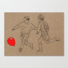 Footbal-oon Canvas Print
