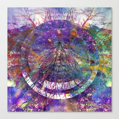 Rainbow Roots Canvas Print