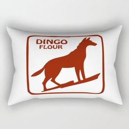 Dingo Flour Rectangular Pillow