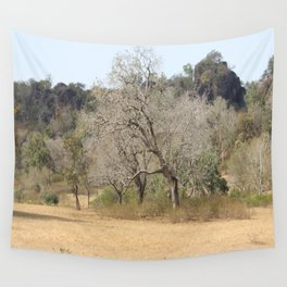 Nature in the dry Season Wall Tapestry