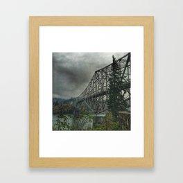 Bridge of the Gods. Framed Art Print