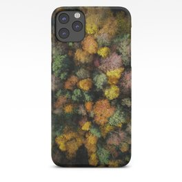 Autumn Forest - Aerial Photography iPhone Case