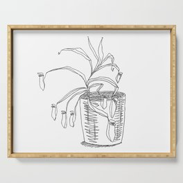 pitcher plant Serving Tray