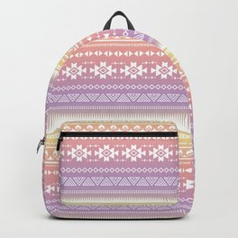 Aztec Tribal Ombre Backpack