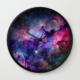 Galaxy Universe Stars Wall Clock