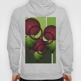 Raspberry with Basil II Hoody