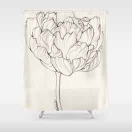 Diamond Tulip Shower Curtain