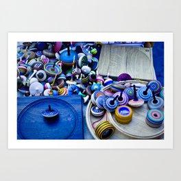 Spinners Art Print