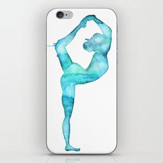 The lord of the dance yoga iPhone & iPod Skin