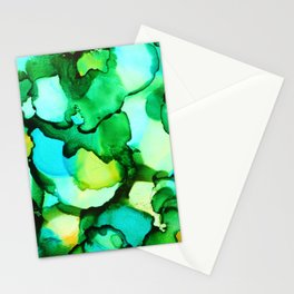 Blue & Green - should be seen Stationery Cards