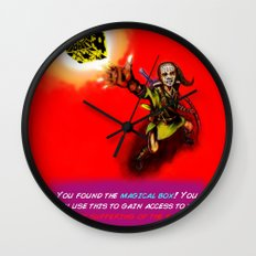 You found the Magical Box! Wall Clock