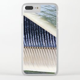 Abstract water in New York City Clear iPhone Case