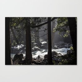A River Runs Through Yosemite Canvas Print