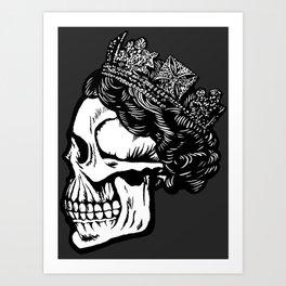 House of Rawkus Skull Art Print