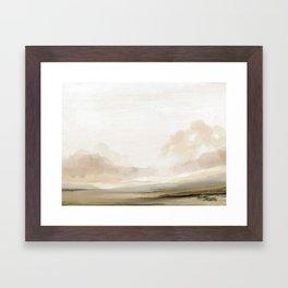 The South Framed Art Print