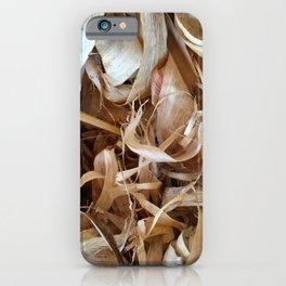 Corn husks iPhone Case