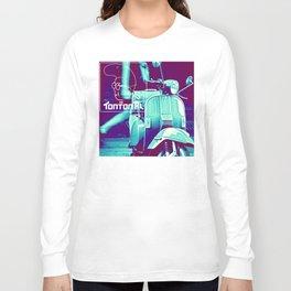 scooter white tonton AL Long Sleeve T-shirt