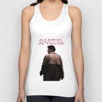 castiel Tank Tops featuring CASTIEL by mycolour