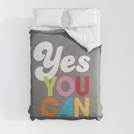 YES YOU CAN Comforters