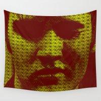 elvis Wall Tapestries featuring Elvis by Ganech joe
